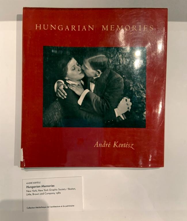 André Kertész (Hungarian, 1894-1985) 'Hungarian Memories' 1982 (installation view)