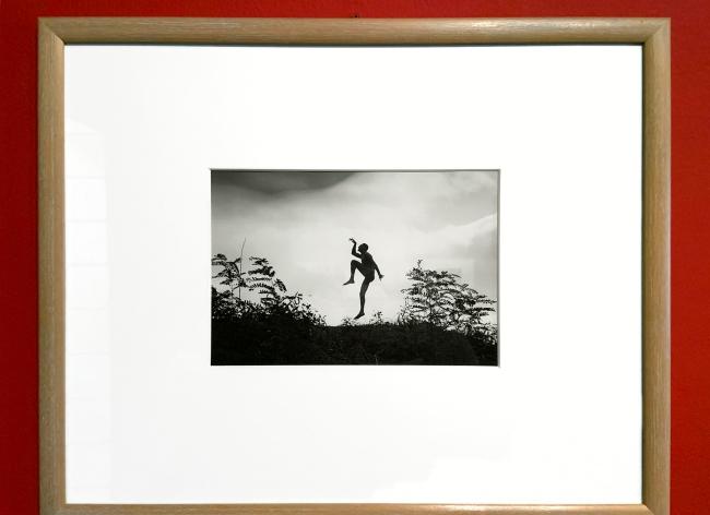 """André Kertész (Hungarian, 1894-1985) 'Mon frère imitant le """"scherzo""""' 'My brother as a """"Scherzo""""' 1919 (installation view)"""
