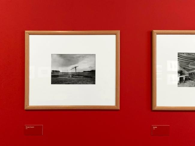 Installation view of the exhibition 'L'equilibriste, André Kertész' at Jeu de Paume, Château de Tours (installation view)