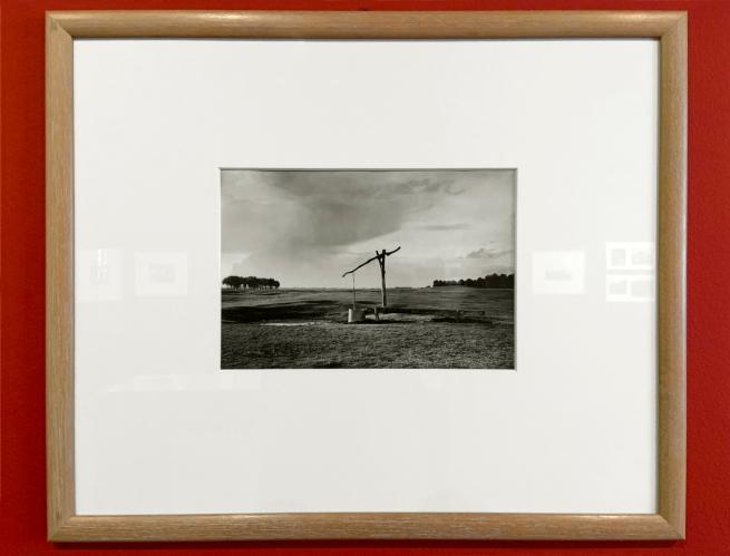 André Kertész (Hungarian, 1894-1985) 'Paysage hongrois' 'Hungarian landscape' 1914 (installation view)
