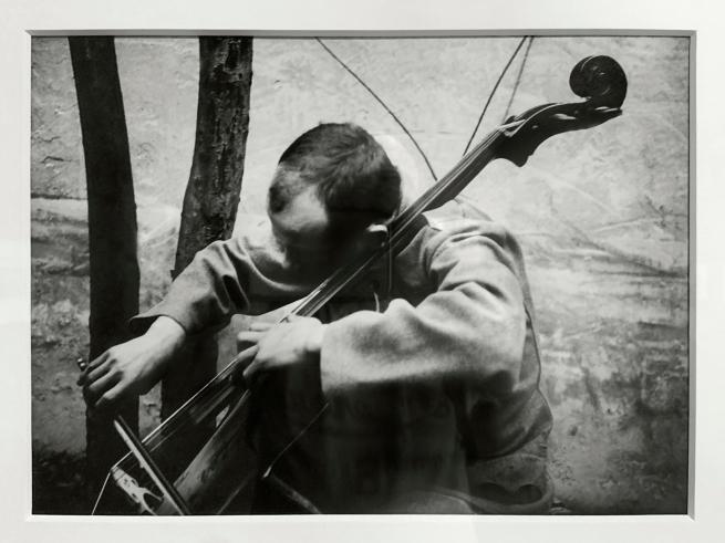 André Kertész (Hungarian, 1894-1985) 'Violoncelliste' 'Cellist' 1916 (installation view)