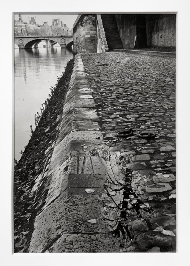 André Kertész (Hungarian, 1894-1985) 'Les Quais après la pluie, Paris The' 'Quays after the rain, Paris' 1963 (installation view)