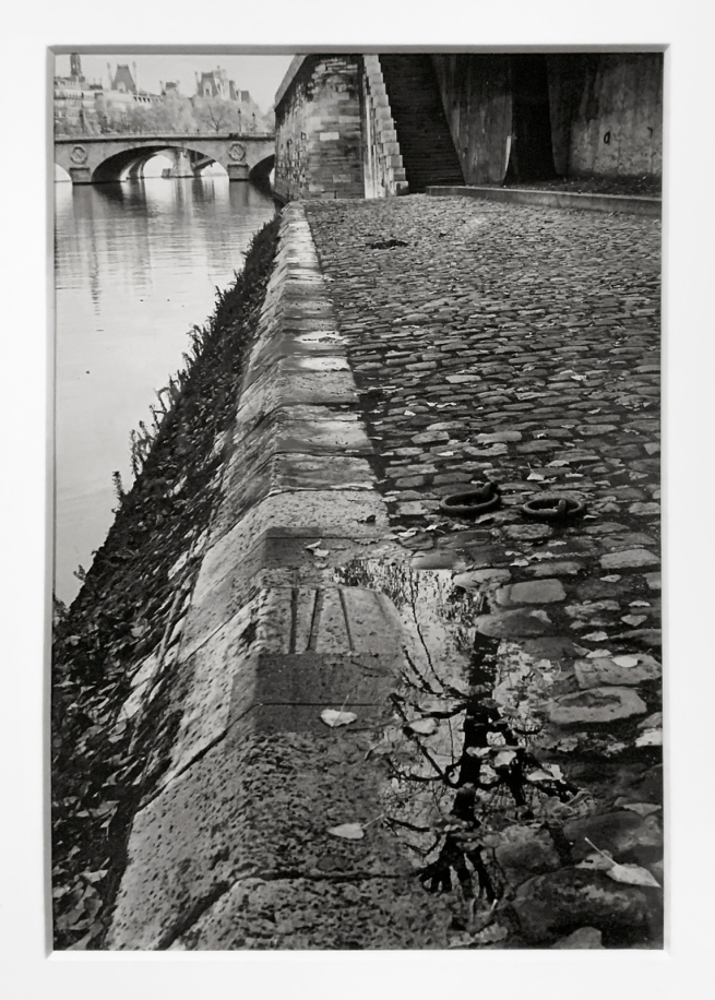 André Kertész (Hungarian, 1894-1985) 'Les Quais après la pluie, Paris The' 'Quays after the rain, Paris' 1963 (installation view)