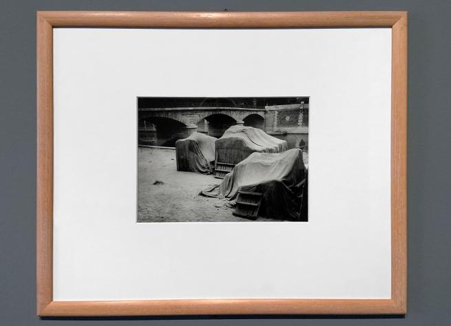André Kertész (Hungarian, 1894-1985) 'Derrière Notre-Dame, Paris' 'Behind Notre-Dame, Paris' 1925 (installation view)