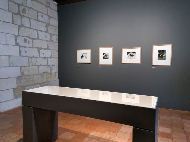 Installation view of the exhibition 'L'equilibriste, André Kertész' at Jeu de Paume, Château de Tours