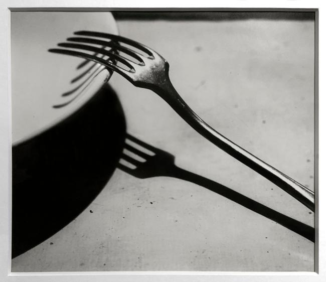 André Kertész (Hungarian, 1894-1985) 'La Fourchette, Paris' 'The Fork, Paris' 1928 (installation view)