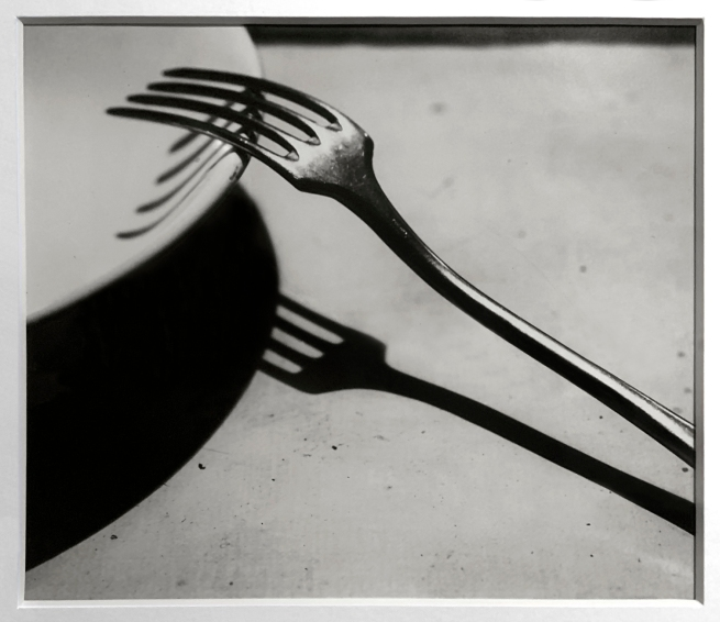 André Kertész (Hungarian, 1894-1985) 'La Fourchette, Paris' 'The Fork, Paris' 1928 (installation view)