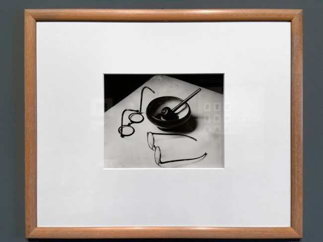 André Kertész (Hungarian, 1894-1985) 'Les Lunettes et la Pipe de Mondrian, Paris''Glasses and Pipe of Mondrian, Paris' 1926 (installation view)