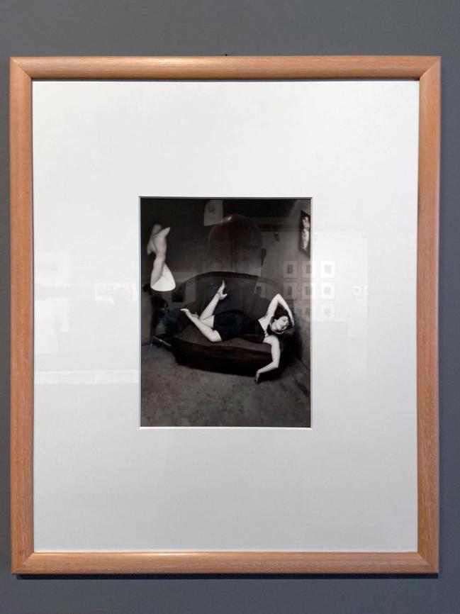 André Kertész (Hungarian, 1894-1985) 'Danseuse burlesque, Paris' 'Burlesque dancer, Paris' 1926 (installation view)