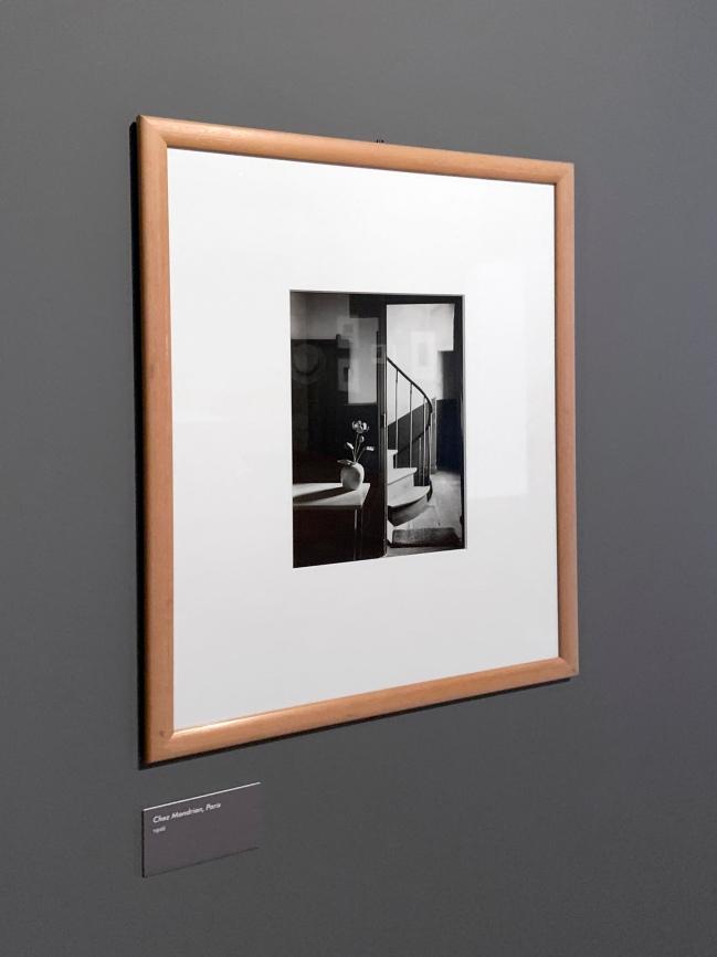 André Kertész (Hungarian, 1894-1985) 'Chez Mondrian, Paris' 1926 (installation view)