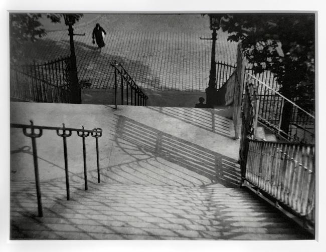 André Kertész (Hungarian, 1894-1985) 'Étude de lignes et d'ombre' 'Study of lines and shadow' 1927 (installation view)