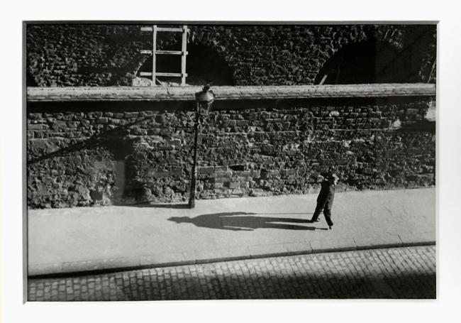 André Kertész (Hungarian, 1894-1985) 'Paris' 1931 (installation view)