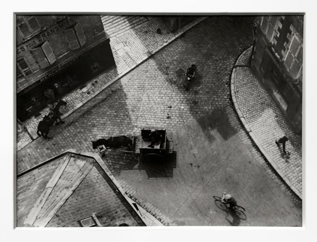 André Kertész (Hungarian, 1894-1985) 'Carrefour, Blois' 1930 (installation view)