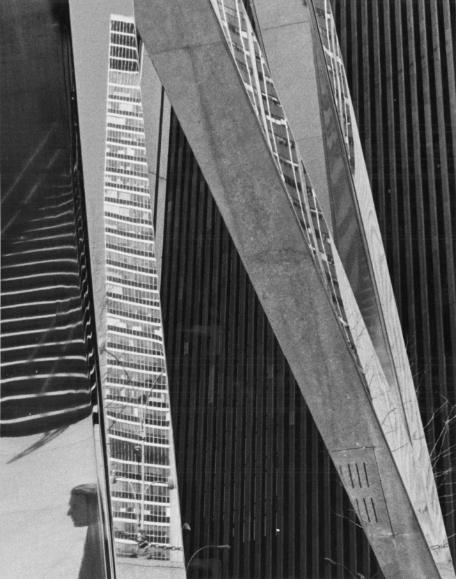 André Kertész (Hungarian, 1894-1985) '6th Avenue, New York' 1973