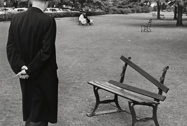 1985) 'Broken Bench, New York' 1962