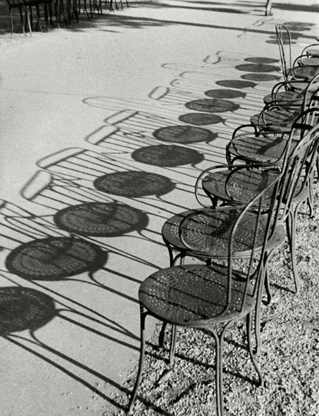 André Kertész (Hungarian, 1894-1985) 'Chairs, Champs-Élysées, Paris' 1929