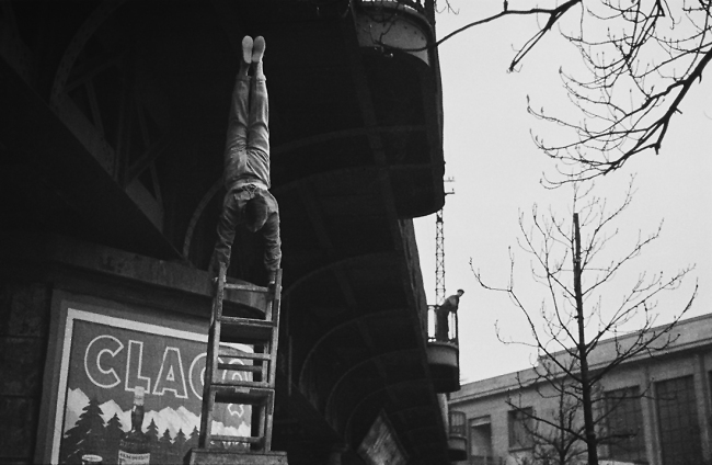 André Kertész (Hungarian, 1894-1985) 'Fête foraine, Paris' 'Fun fair, Paris' 1931