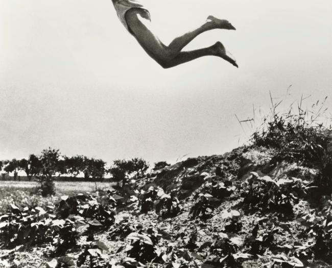 André Kertész (Hungarian, 1894-1985) 'Mon frère tel Icare, Dunaharaszti''My brother like Icarus, Dunaharaszti' 1919 (installation view)
