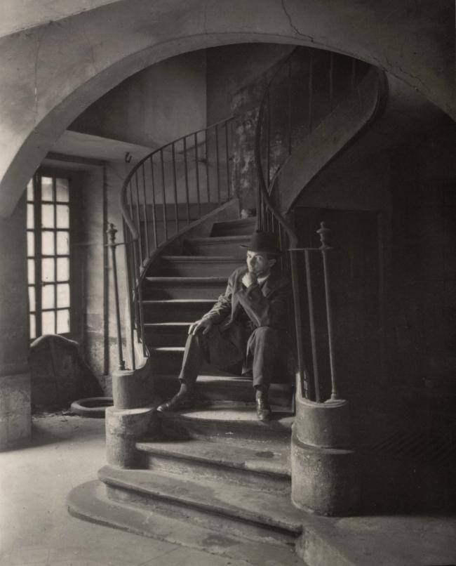 André Kertész (Hungarian, 1894-1985) 'Quartier Latin, Paris' 'Latin Quarter, Paris' 1926
