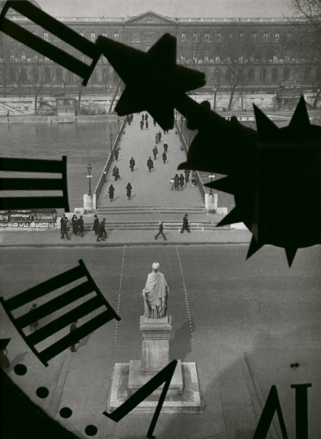 André Kertész (Hungarian, 1894-1985) 'Le pont des arts, Paris' 'The bridge of Arts, Paris' 1932