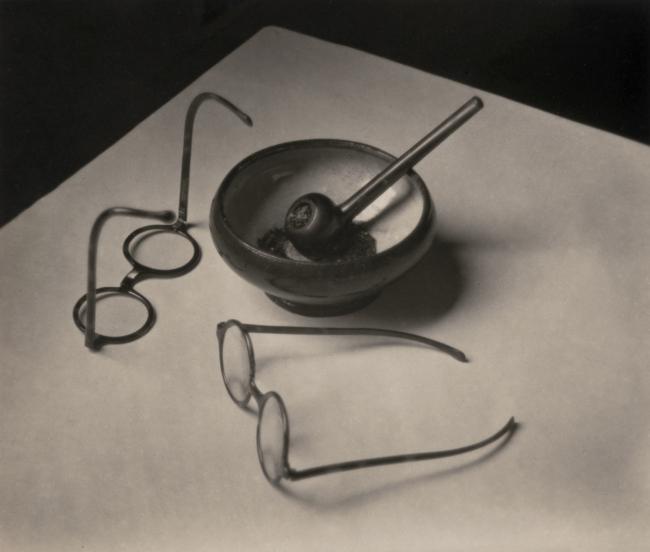 André Kertész (Hungarian, 1894-1985) 'Les Lunettes et la Pipe de Mondrian, Paris''Glasses and Pipe of Mondrian, Paris' 1926