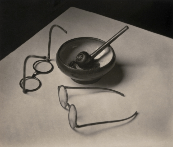 André Kertész (Hungarian, 1894-1985) 'Les Lunettes et la Pipe de Mondrian, Paris' 'Glasses and Pipe of Mondrian, Paris' 1926