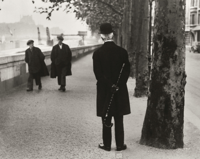 André Kertész (Hungarian, 1894-1985) 'Quai d'Orsay, Paris' 1926