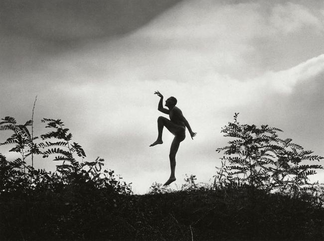 """André Kertész (Hungarian, 1894-1985) 'Mon frère imitant le """"scherzo""""' 'My brother as a """"Scherzo""""' 1919"""
