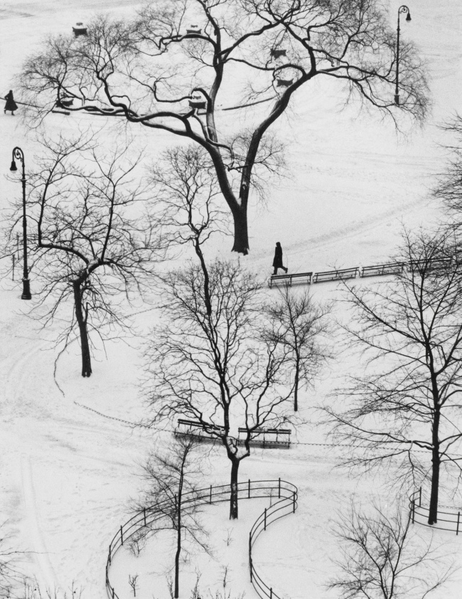 André Kertész (Hungarian, 1894-1985) 'Washington Square, New York' 1954