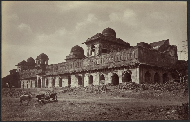 Lala Deen Dayal (Indian, 1844-1905) 'Jahaz Mahal' between 1879 and 1881