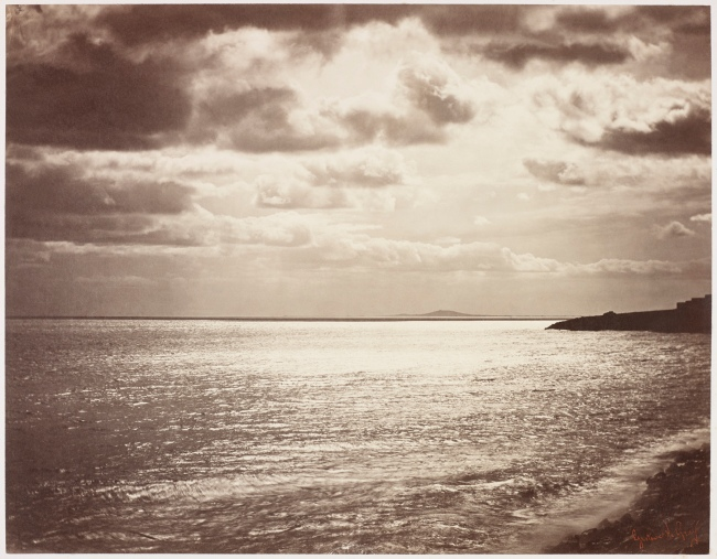 Gustave Le Gray (French, 1820-1884) 'Mediterranean with Mount Agde' 1857
