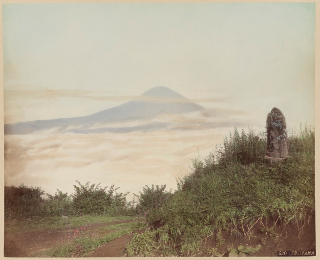 Unidentified maker. 'Mount Fuji' c. 1870