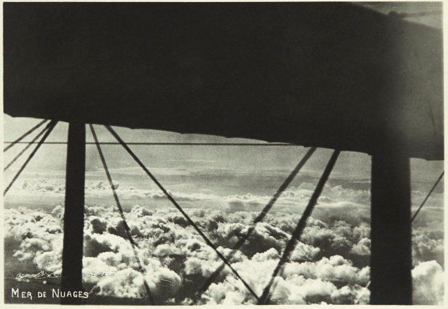 Unidentified maker (French) 'Mer de nuages' (Sea of ​​clouds) c. 1918