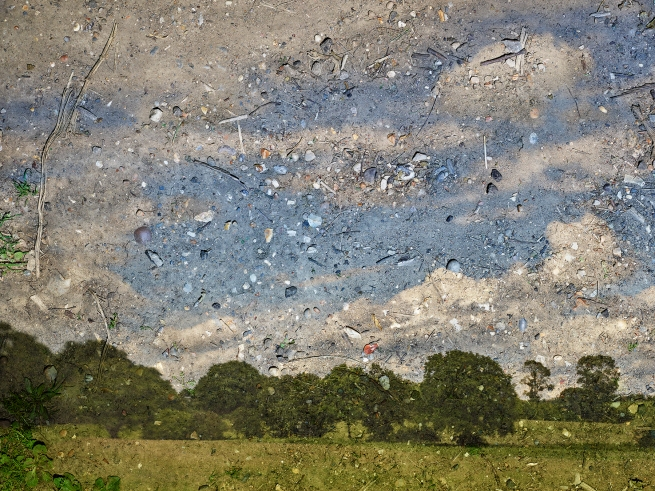 Abelardo Morell (American, b. Cuba 1948) 'Rapidly Moving Clouds over Field, Flatford, England, #1' 2017