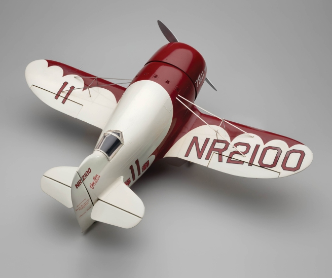 Edward Chavez (1917–2004) 'Granville Gee Bee Model R-1 Super Sportster model aircraft' 1965