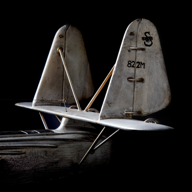 'Pan American Airways Sikorsky S-42 flying boat model aircraft' 1934 (detail)