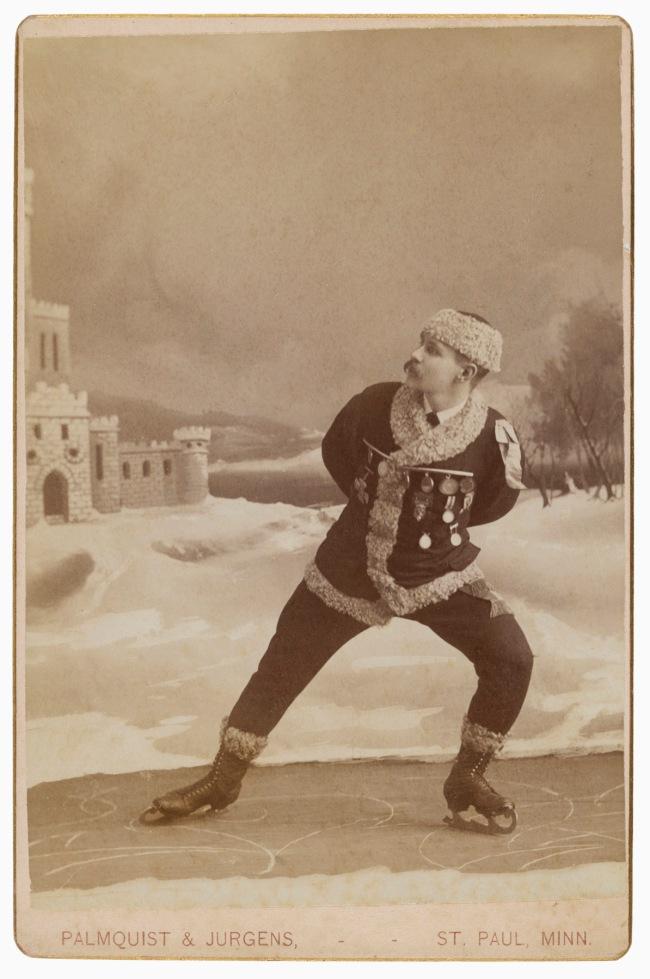 Alfred U. Palmquist and Peder T. Jurgens, St. Paul, MN. '[Skater]' 1880s