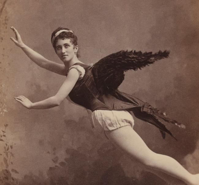 Benjamin J. Falk, New York, NY. 'Helena Luy' 1880s (detail)
