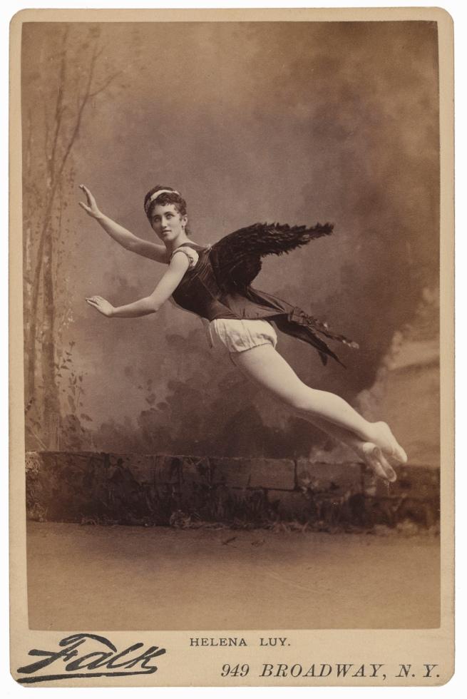 Benjamin J. Falk, New York, NY. 'Helena Luy' 1880s
