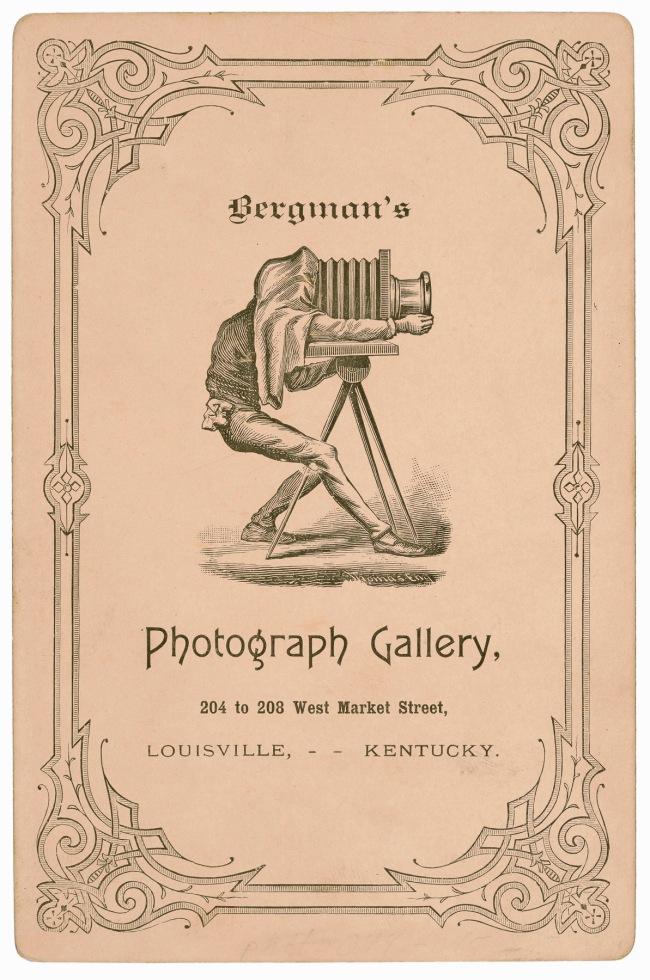 Caroline Bergman, Louisville, KY. 'Untitled [Bergman's Photograph Gallery]' c. 1890