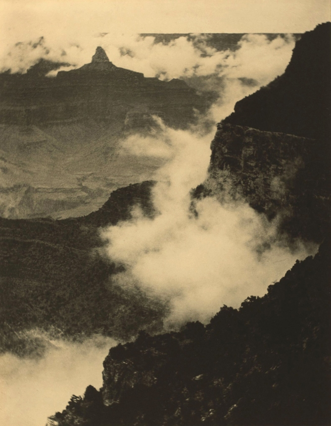 Alvin Langdon Coburn (British, b. United States, 1882-1966) 'Clouds in the Canyon' 1911
