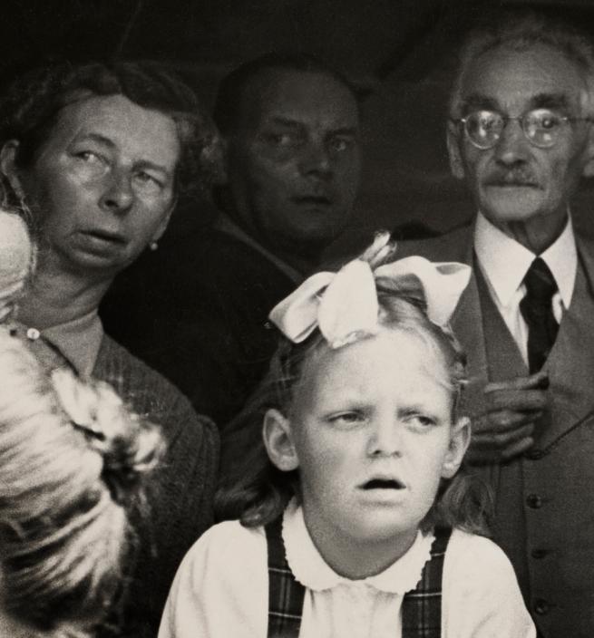 Robert Frank (Swiss, 1924-2019) 'Landsgemeinde, Hundwil' 1949 (detail)