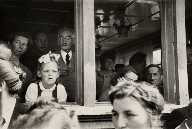 Robert Frank (Swiss, 1924-2019) 'Landsgemeinde, Hundwil' 1949