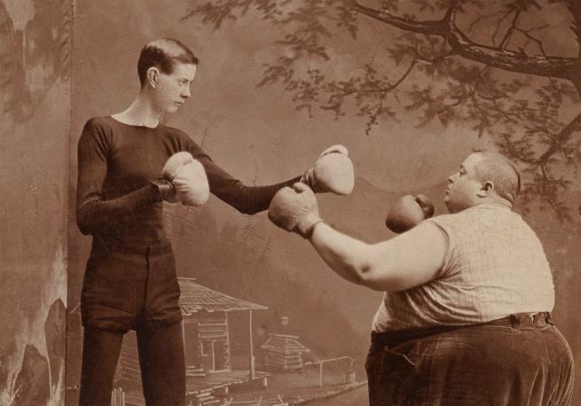 Howie, Detroit, MI 'George Moore and Fred Howe' 1890s (detail)