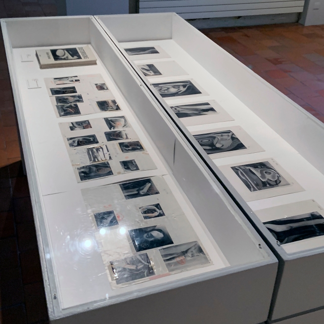 André Kertész (Hungarian, 1894-1985) 'Original plates of the model of the book 'Distortions'' 1975-76 (installation view)