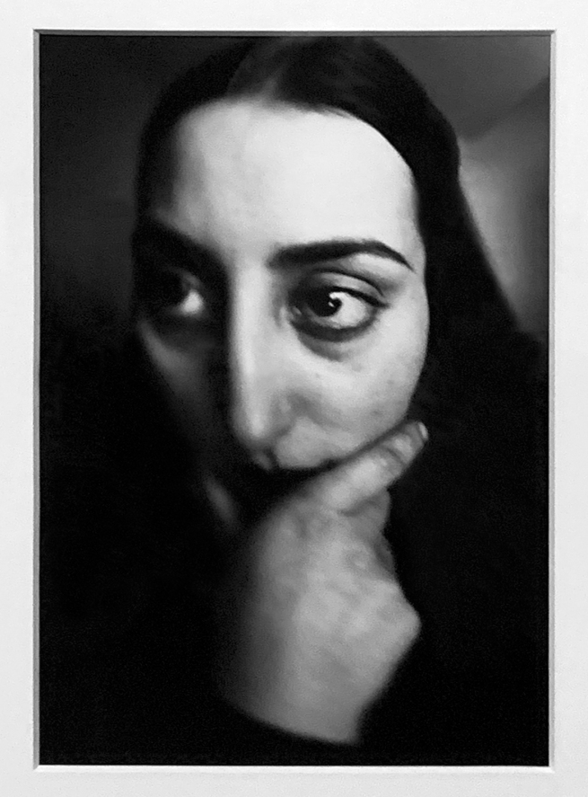 André Kertész (Hungarian, 1894-1985) 'Distorted Portrait (Face of a Woman), Paris' 1927 (installation view)
