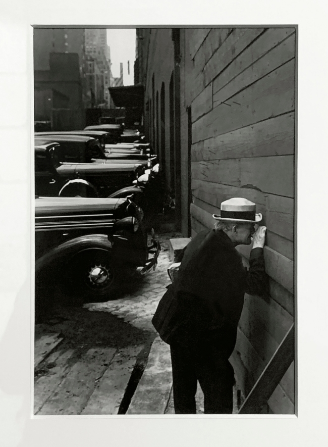 André Kertész (Hungarian, 1894-1985) 'New York' 1937 (installation view)