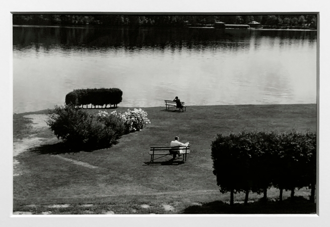 André Kertész (Hungarian, 1894-1985) 'Lake Placid' 1954 (installation view)