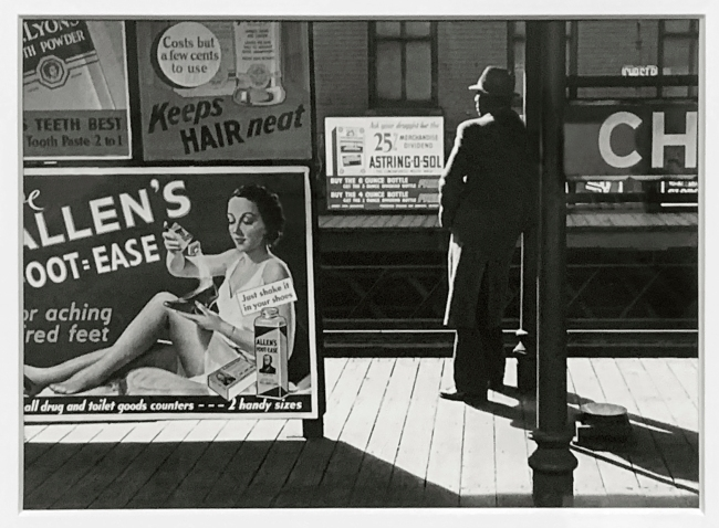 André Kertész (Hungarian, 1894-1985) 'Poughkeepsie, New York' 1937 (installation view)