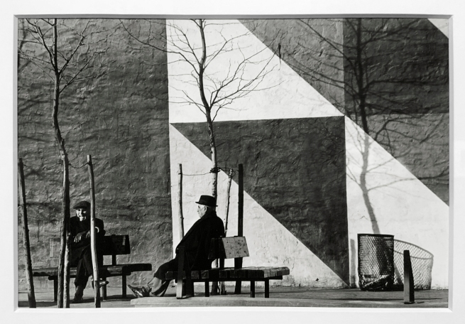 André Kertész (Hungarian, 1894-1985) 'New York' 1969 (installation view)
